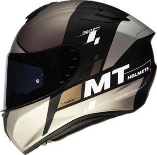 Casco moto integral MT rigel negro mate