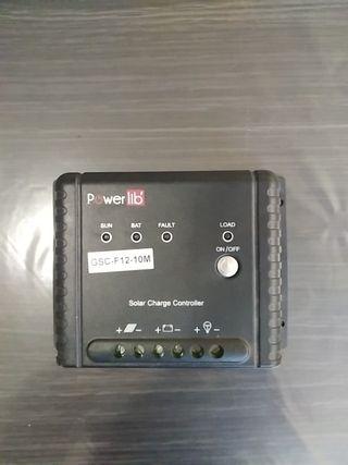 regulador de carga solar tipo MPPT powerlib