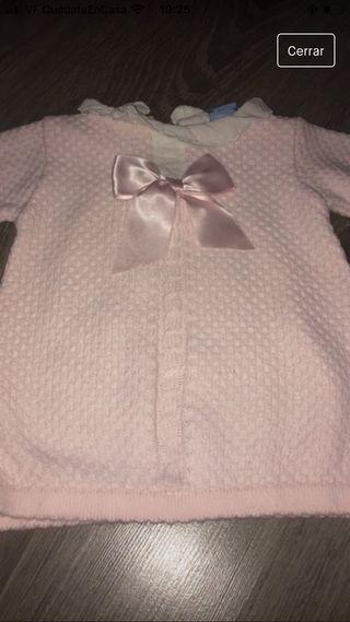 Vestido sardon talla 12 meses