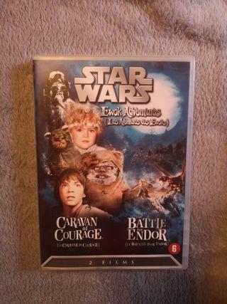 Star wars ewoks DVD edición francesa
