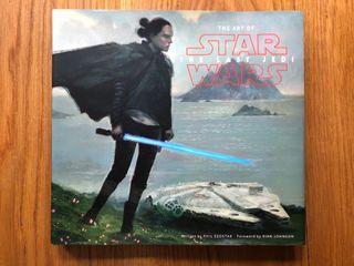 NUEVO Artbook Star Wars The Last Jedi