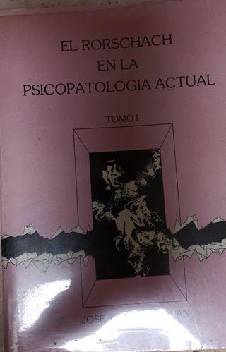 El Rorschach en la psicopatologia actual. 1985