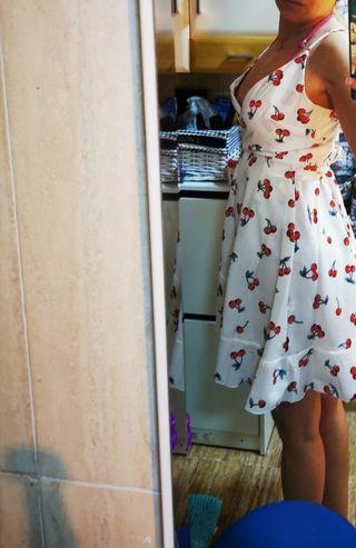 vestido cerezas verano