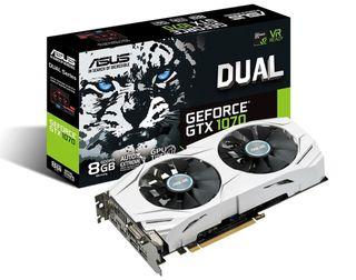 2 Asus Nvidia GeForce GTX 1070 8GB OC DUAL SLI
