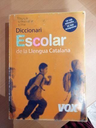 Diccionari escolar de llengua catalana