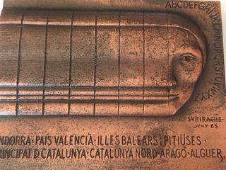 ESCULTURA DE SUBIRACHS DE 1985