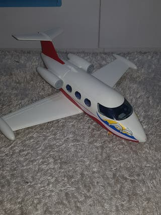 Avión y piloto playmobil