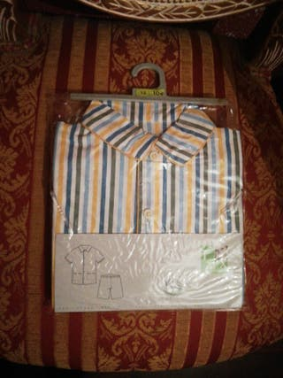 pijama talla 1 o 2 años NUEVO manga corta niño