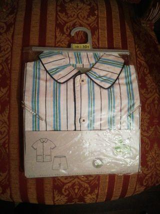 Pijama talla 1 o 2 años niño NUEVO manga corta