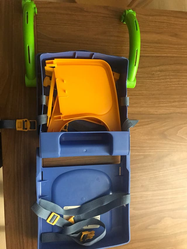 21 Silla elevador trona plegable - viaje