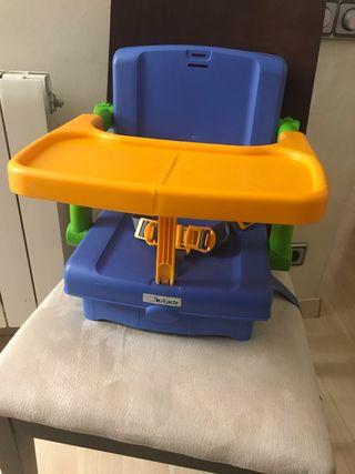 Silla elevador trona plegable - viaje