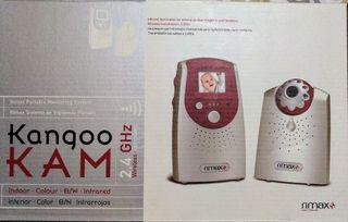 Sistema de vigilancia de bebés portátil sin cables