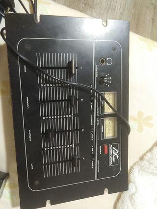 mesa de sonido acoustic control