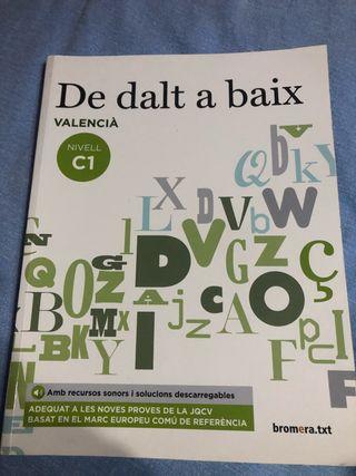 Libro de dalt a baix valencià nivell c1
