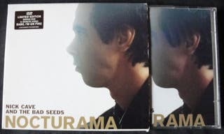 NICK CAVE AND THE BAD SEEDS - NOCTURAMA - CD Y DVD