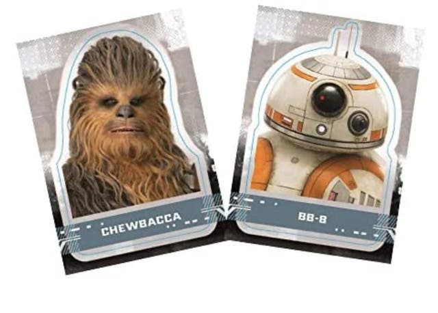 TIN BOX TOPPS STAR WARS CARDS BB-8 DARTH VADER REY