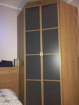 Armario esquinero Ikea