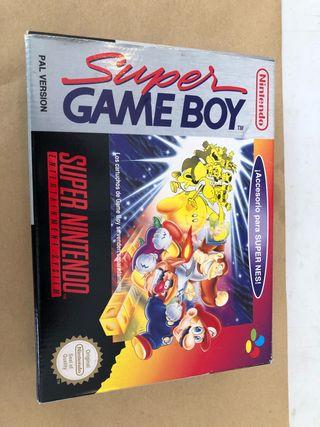 Súper game boy Nintendo