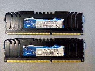 Kit 4gb 2x DDR3 2133 2gb GSKILL