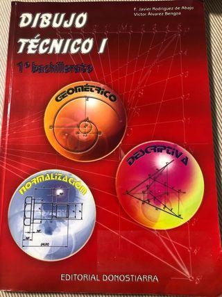 Libro de dibujo tecnico- Editorial Donostiarra