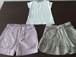 Lote ropa verano niña 4 años
