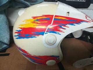 casco motocross clásico