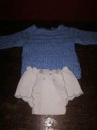 conjunto de muñeco bebé años 70