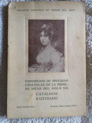 Catalogo Exposición Pinturas Españolas Siglo XIX