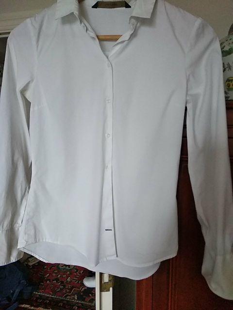 camisa básica ,entallada en buen estado