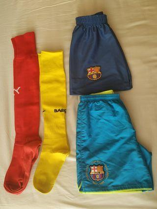 Pantalones + medias BARÇA NIKE y PUMA