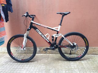 bicicleta mtb Merida doble suspensión