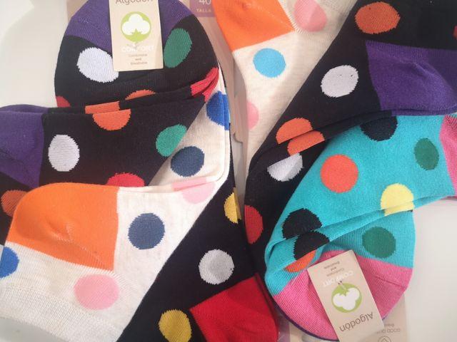 calcetín algodón básico tobillero 3 pares 5 euros