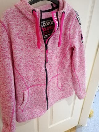 superdry fleece jacket