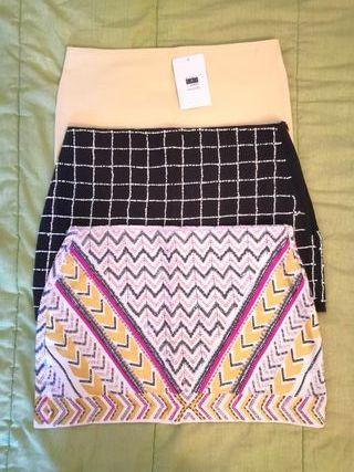Faldas nuevas de Zara