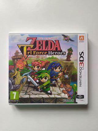 Zelda Triforce Heroes 3DS Nintendo Juego