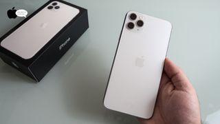 iPhone 11 Pro máx 256Gb silver perfecto estado