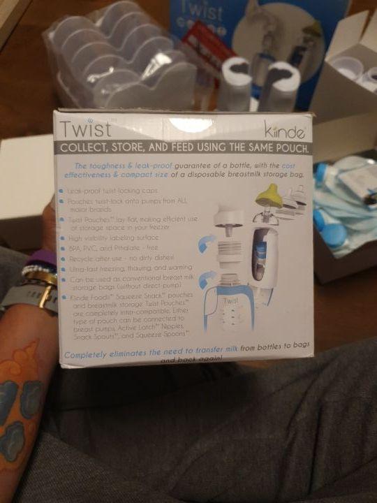 Nuevo Kit para todos los sacaleches Twist Kiinde