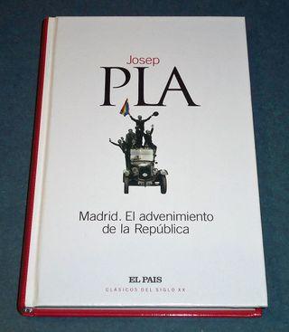 MADRID. EL ADVENIMIENTO DE LA REPÚBLICA, Josep Pla