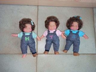 Muñecas las tres mellizas