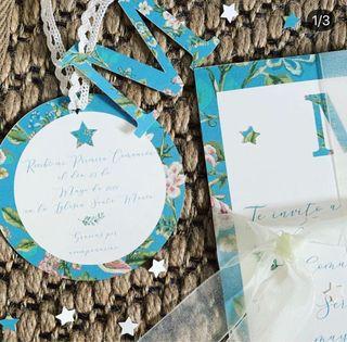Invitaciones boda, comunion, bautizo, cumple