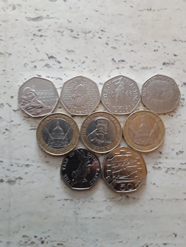 RARE £2 AND 50P COINS