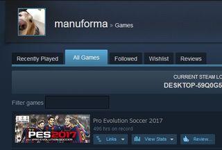 Pro Evolution Soccer 2017 PES 2018 Steam Gift