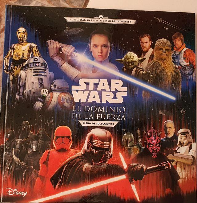 cromos Star wars Corte inglés