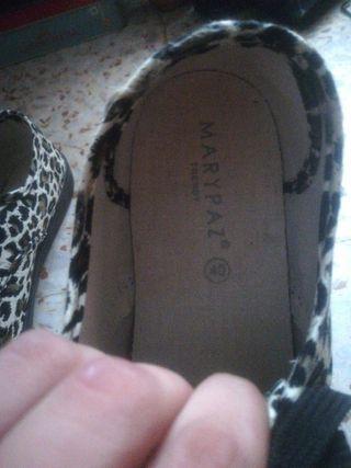 zapatillas mujer leopardo Mary paz