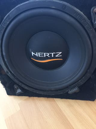 """Bombo cajón graves Hertz 12"""""""