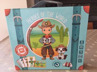 Héroes of the world Juego 3/7 años