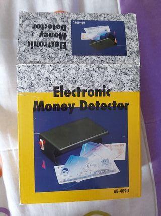 detector eléctrico de billetes
