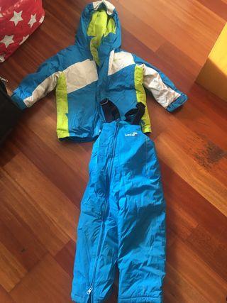 Ropa de esquí niños talla 3 años
