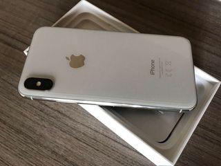 iPhone X 256gb plata