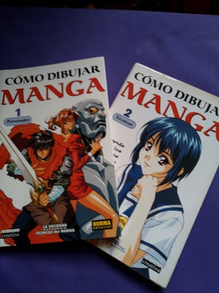 Cómo Dibujar Manga. Volúmenes 1 i 2.